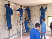 ремонт стен помещений Красноярск