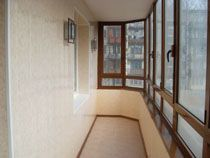 Отделка балкона в Красноярске. Отделка лоджии