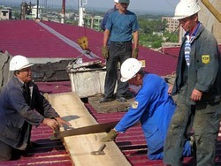 Ремонт крыш в Красноярске. Строительство и отделка кровли. Кровельные работы в Красноярске. Отделка
